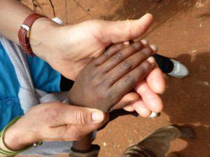 Äthiopien Hände