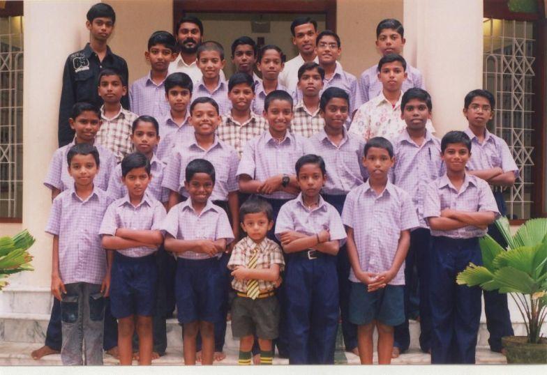 Indien-Waisenheim-Kerala
